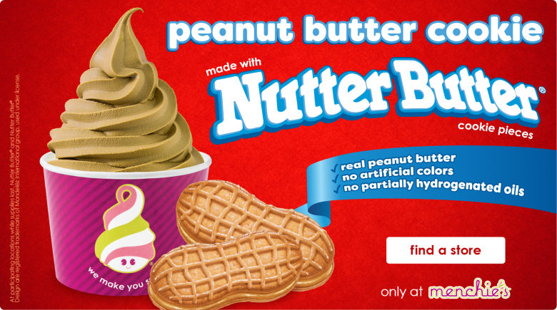 New Nutter Butter Froyo Flavor