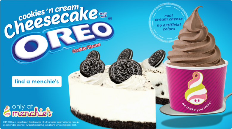 Oreo Cheesecake flavors in stores now
