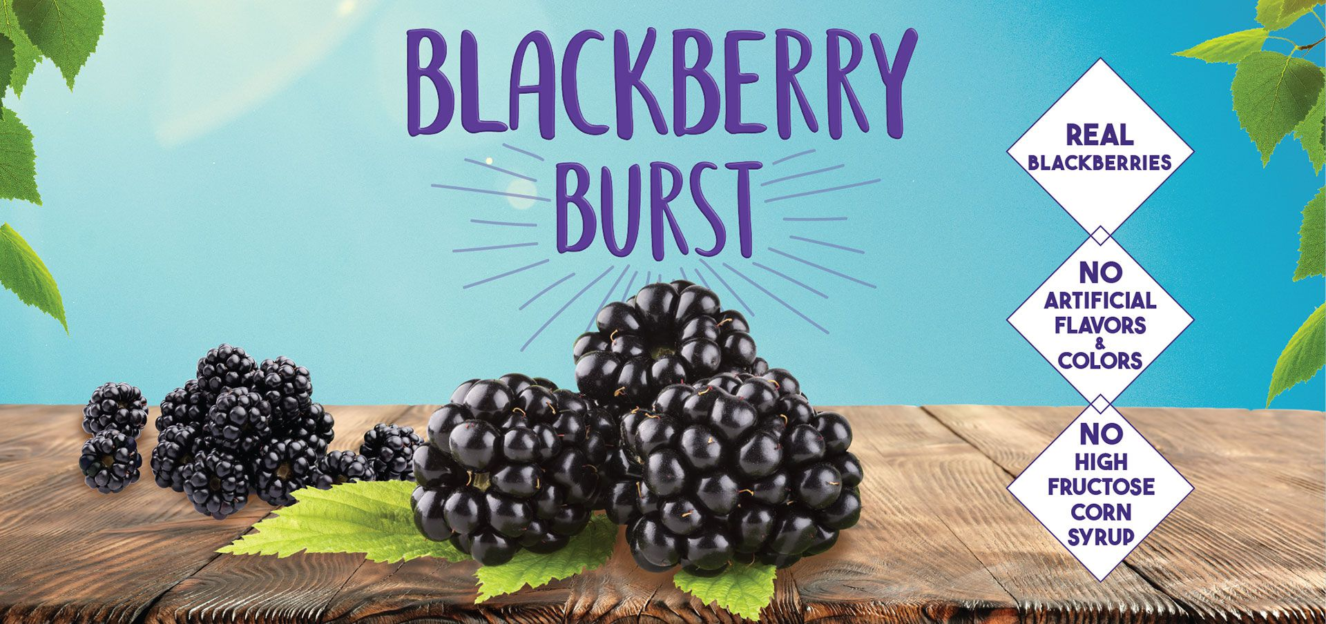 blackberry burst label image
