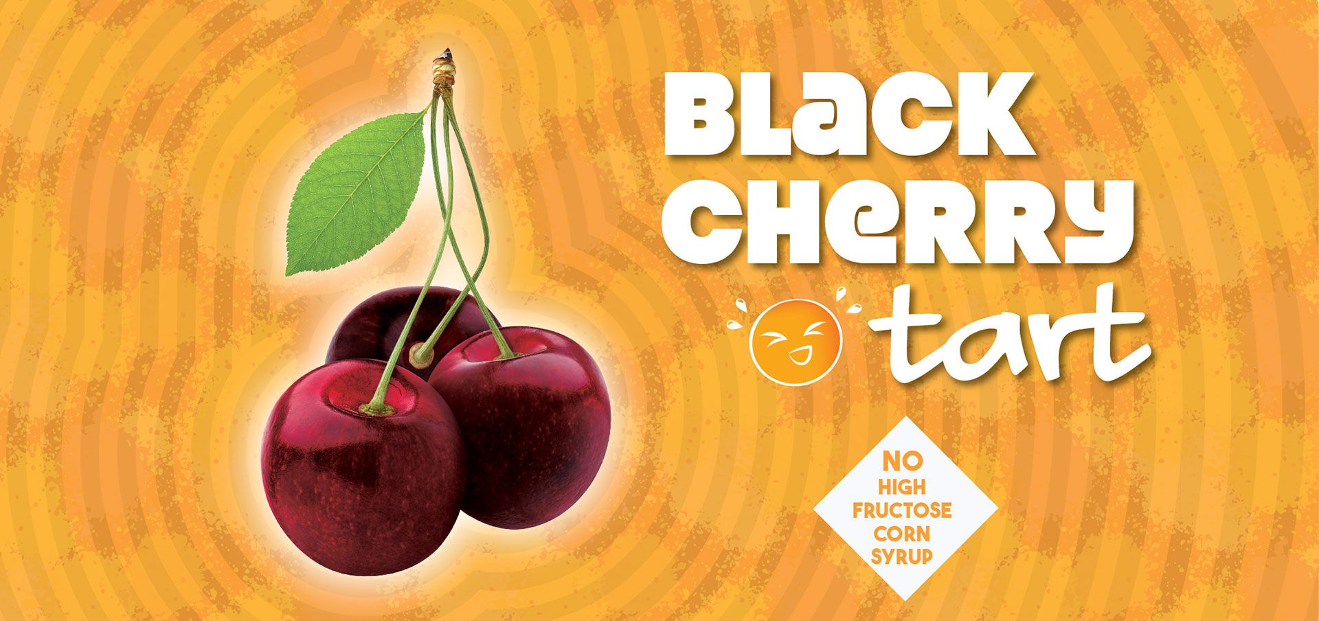 black cherry tart label image