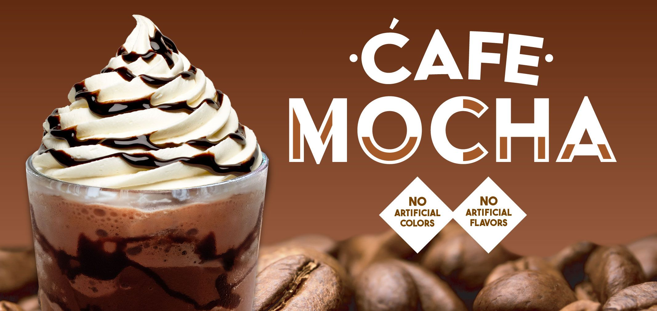 cafe mocha label image