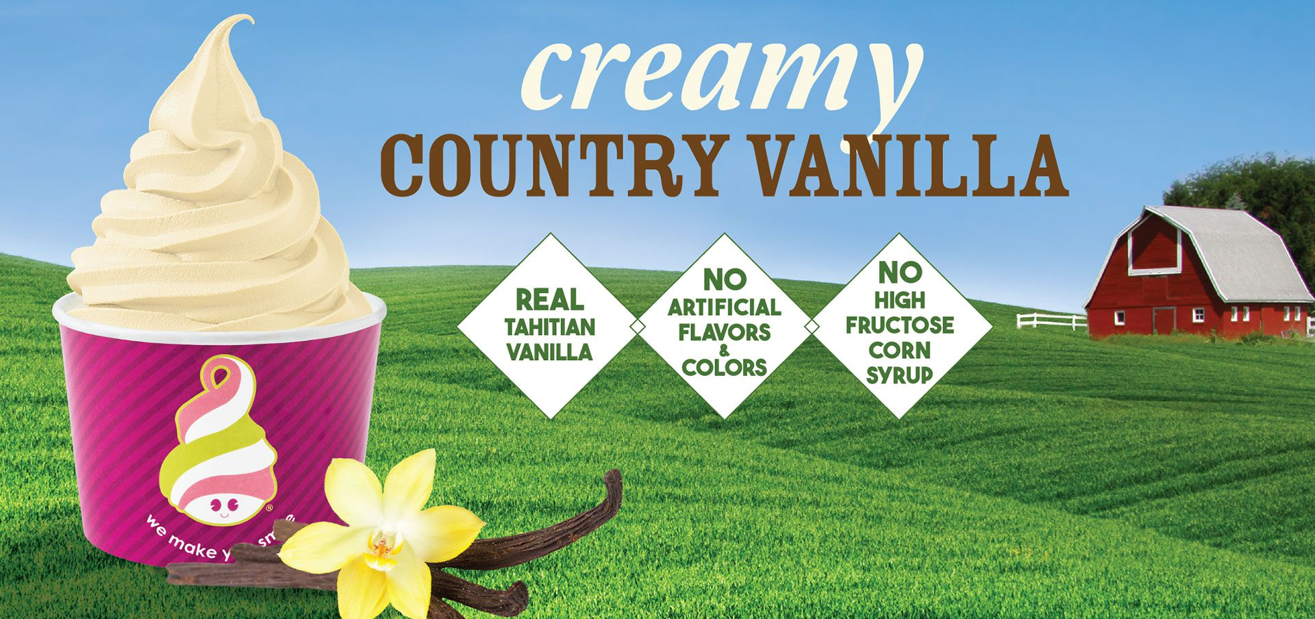 creamy country vanilla label image