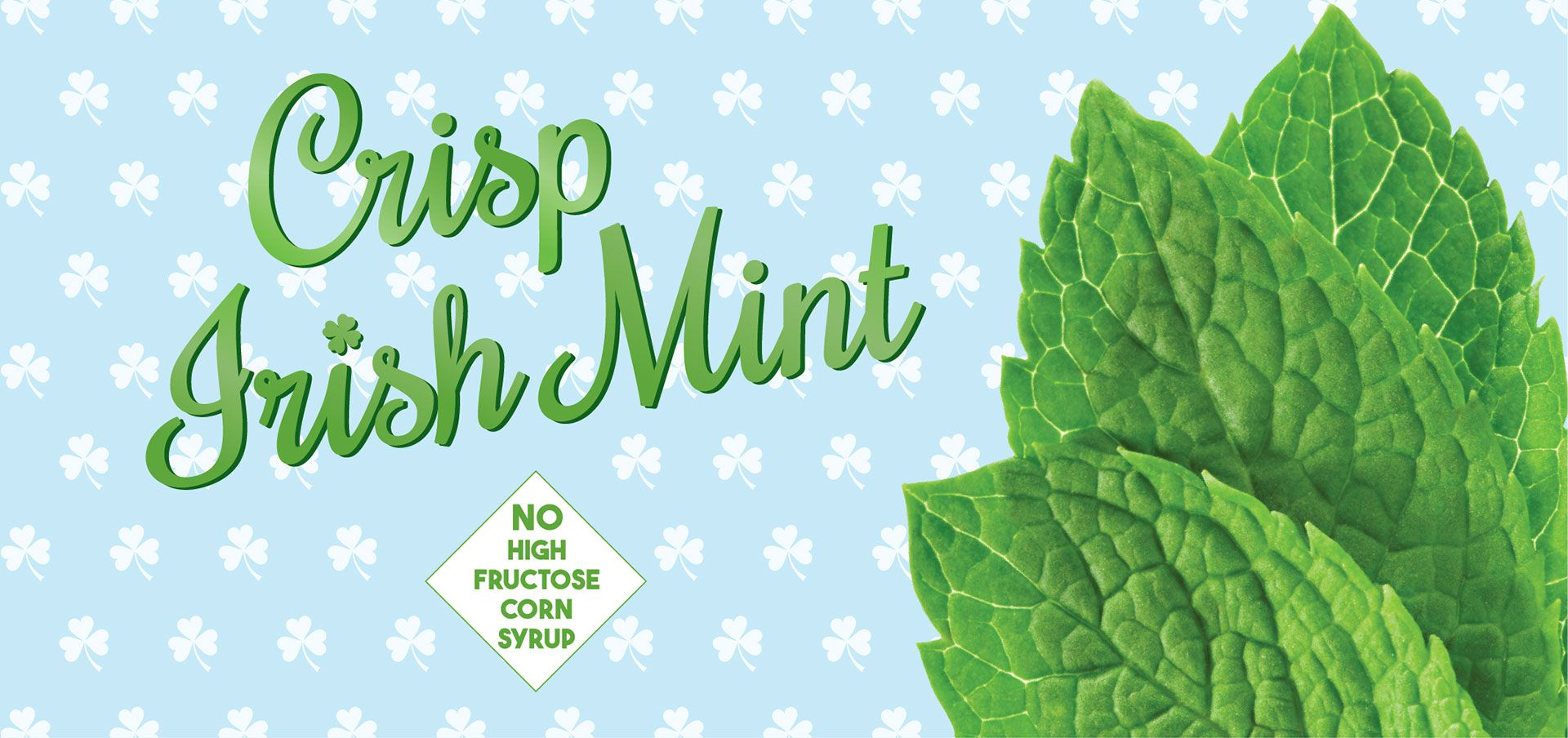 crisp irish mint label image