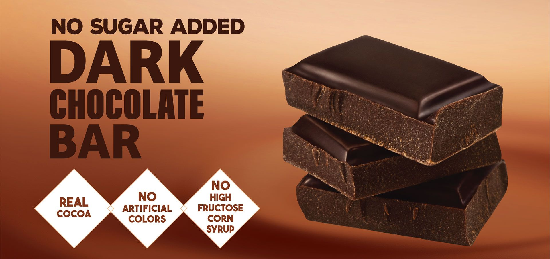 dark chocolate bar label image
