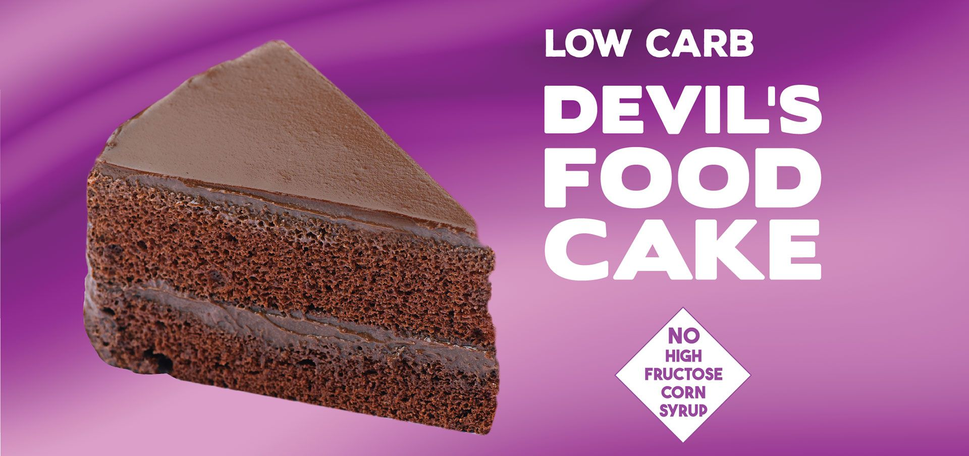 devil's food cake label image