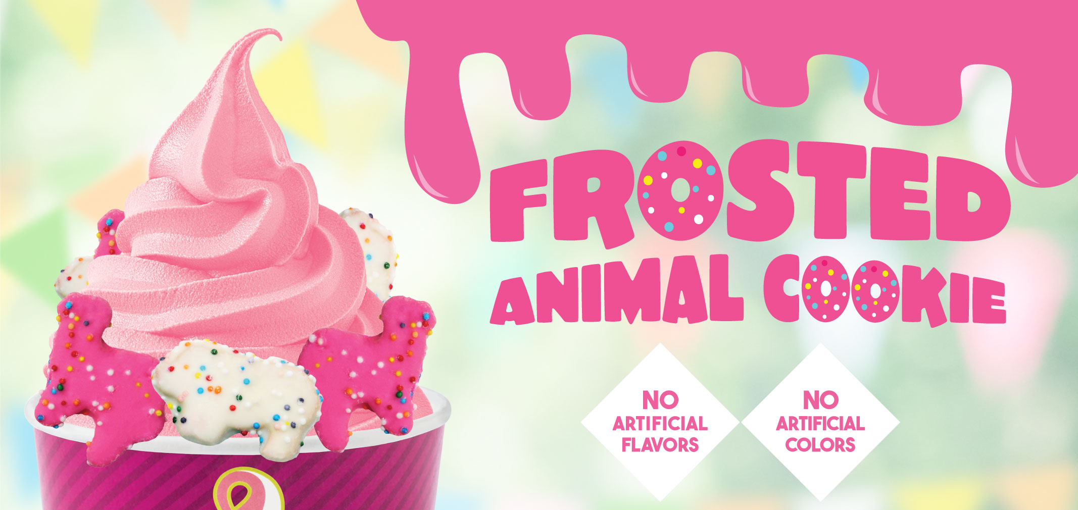 Frosted Animal Cookie label image