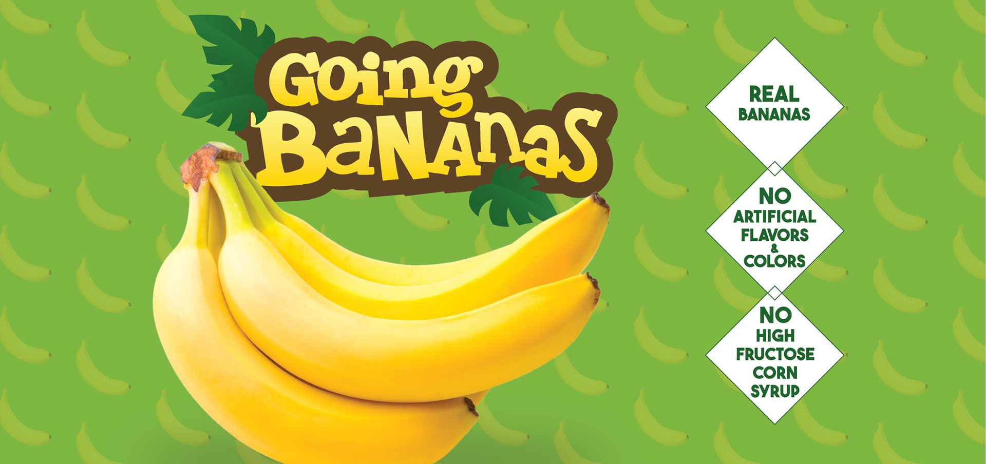 going bananas label image
