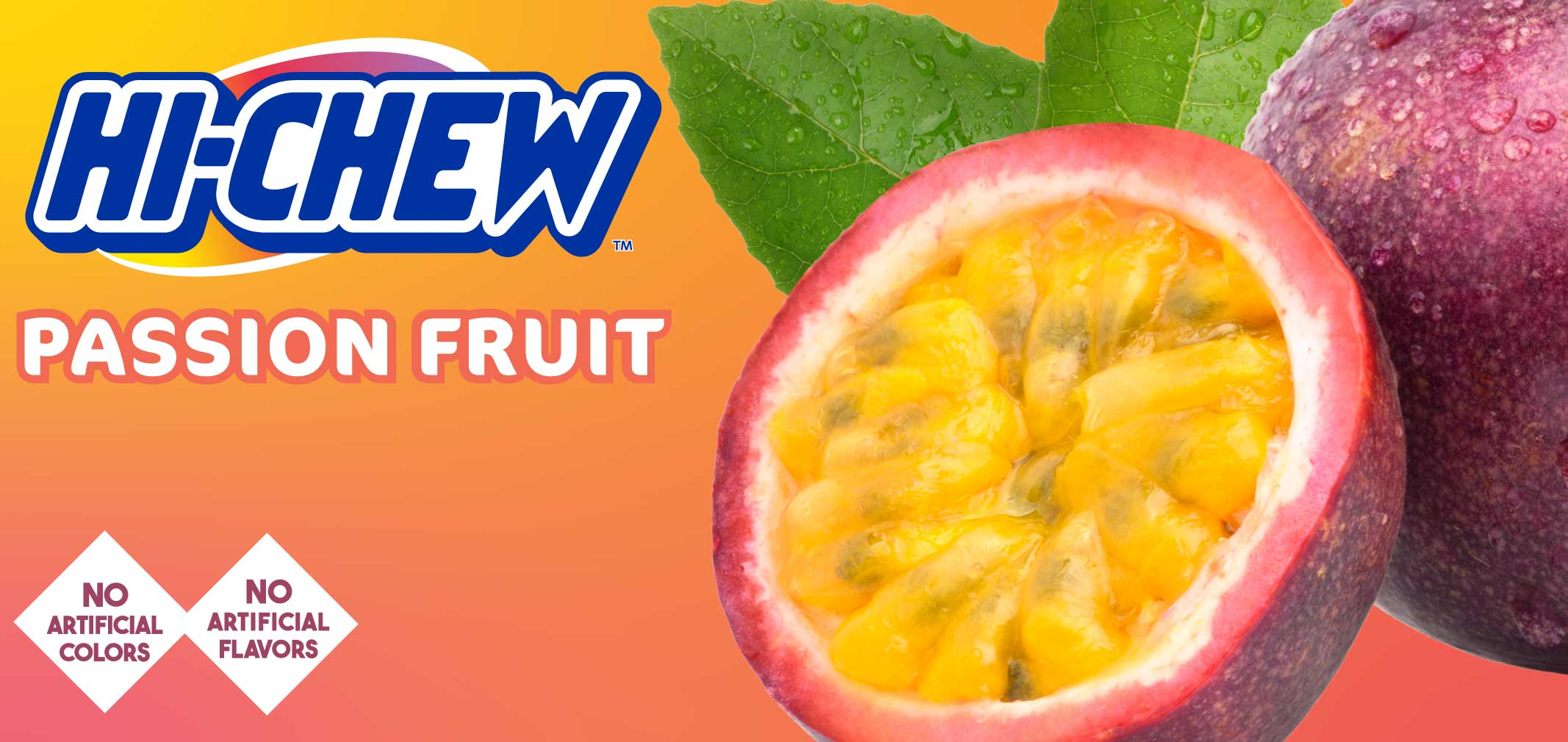 HI-CHEW™ Passion Fruit label image