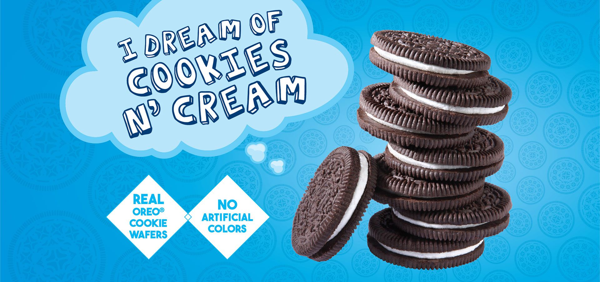 i dream of cookies n' cream label image