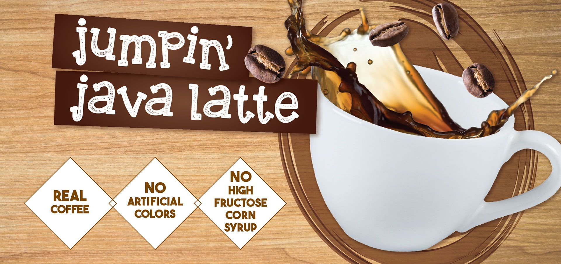 jumpin' java latte label image