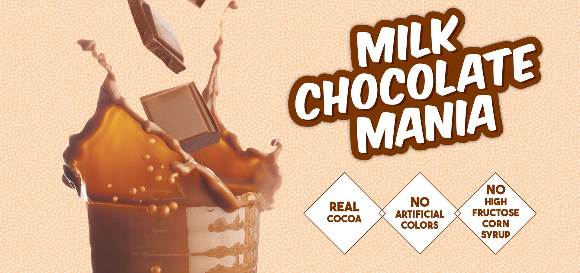 milk chocolate mania label image