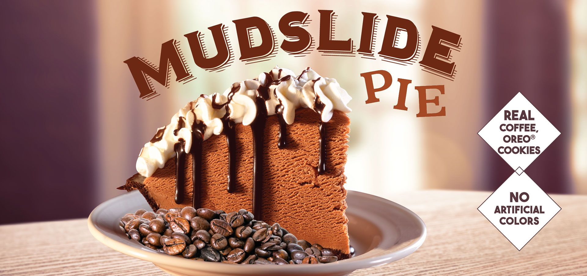 mudslide pie label image