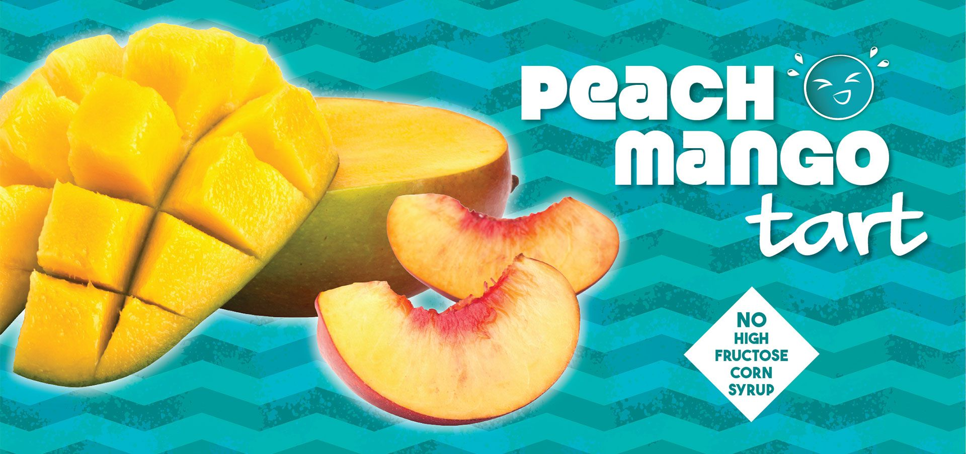 peach mango tart label image