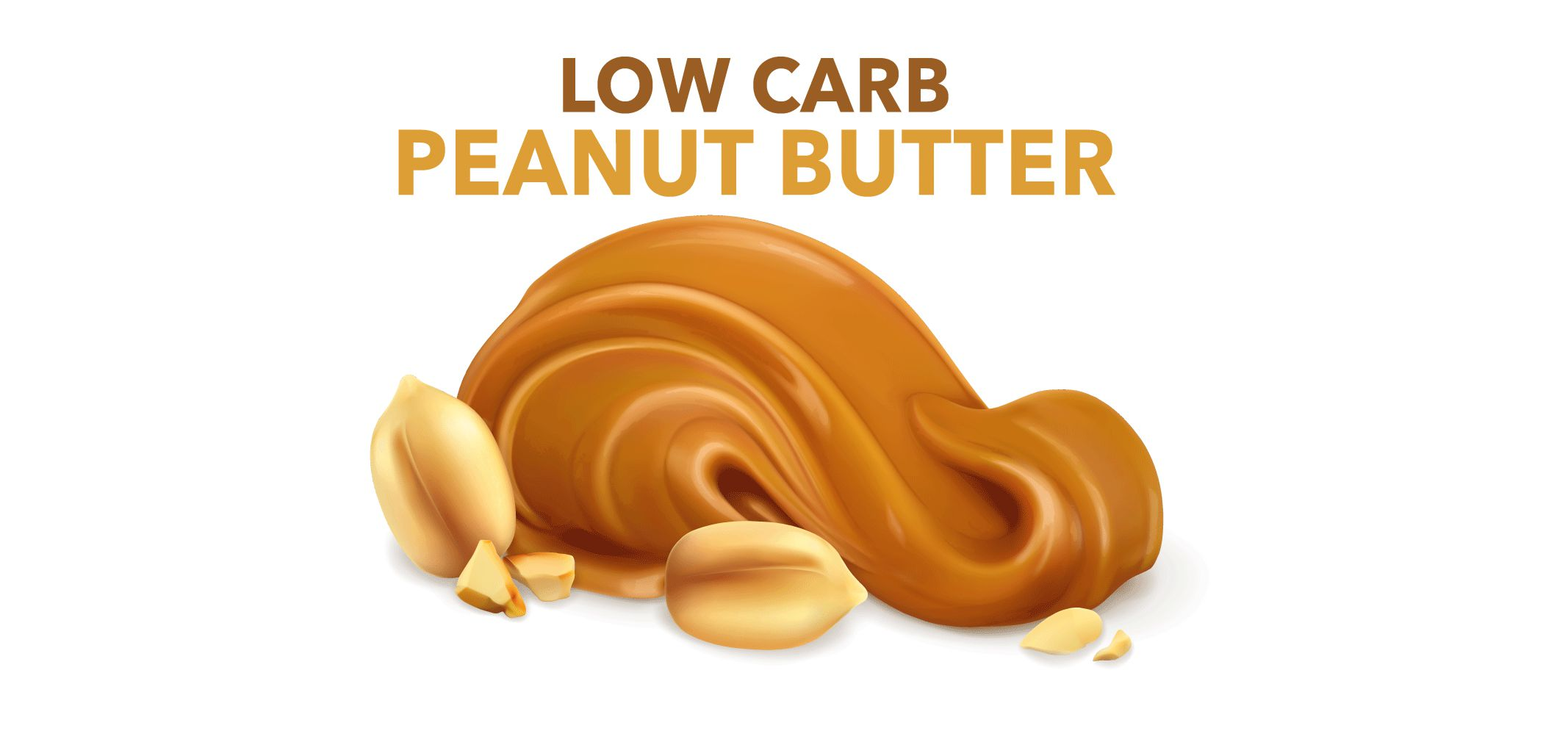 carbolite low carb no sugar added peanut butter label image