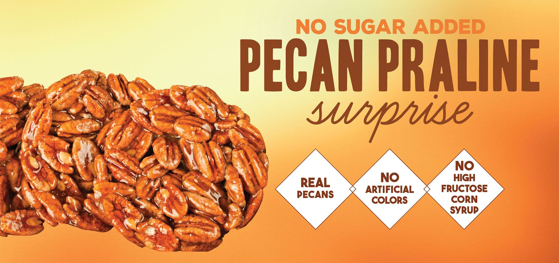 nsa pecan praline surprise label image