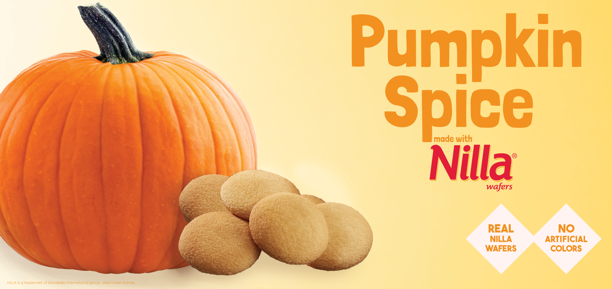Pumpkin Spice made with Nilla Wafers label image