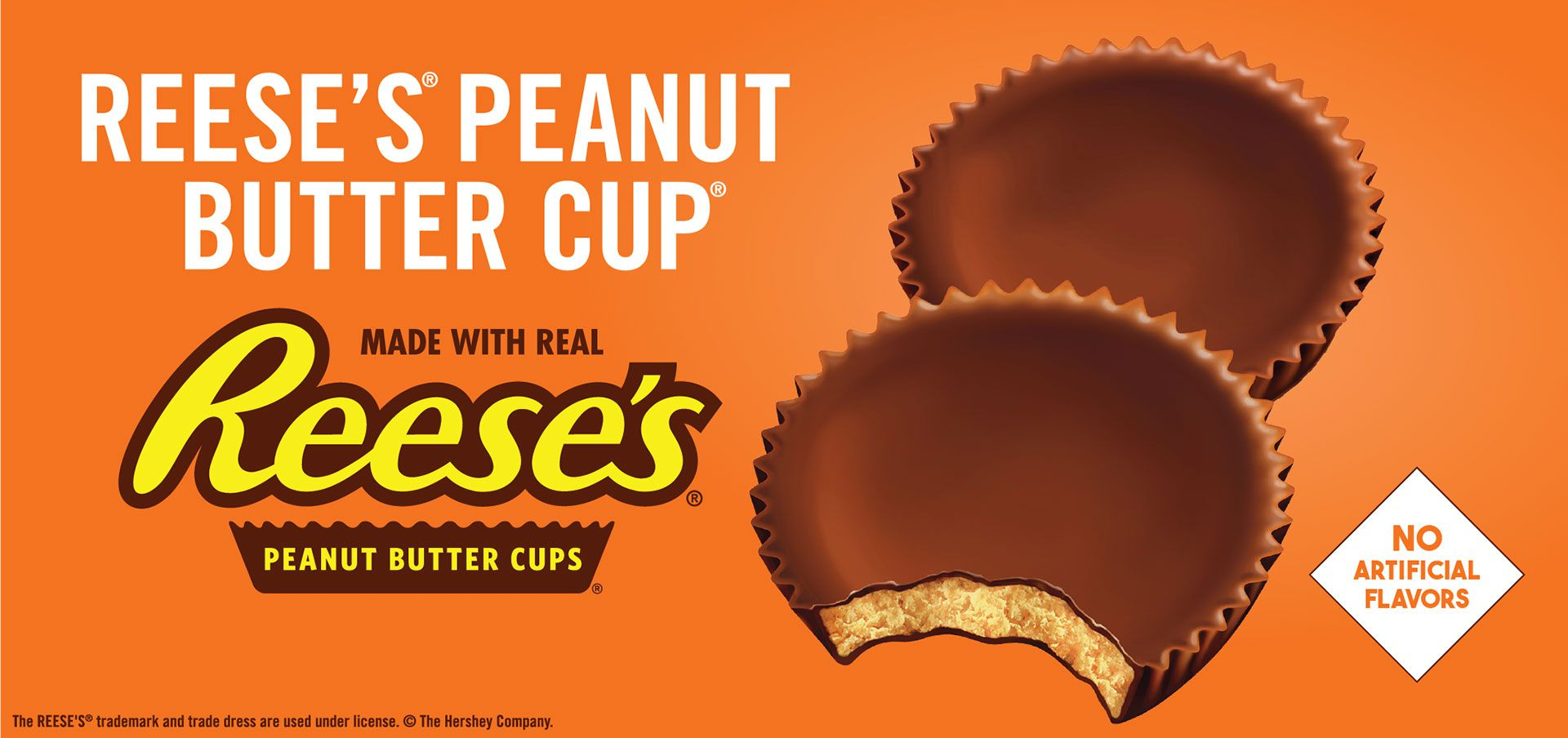 reese's® peanut butter cup® label image
