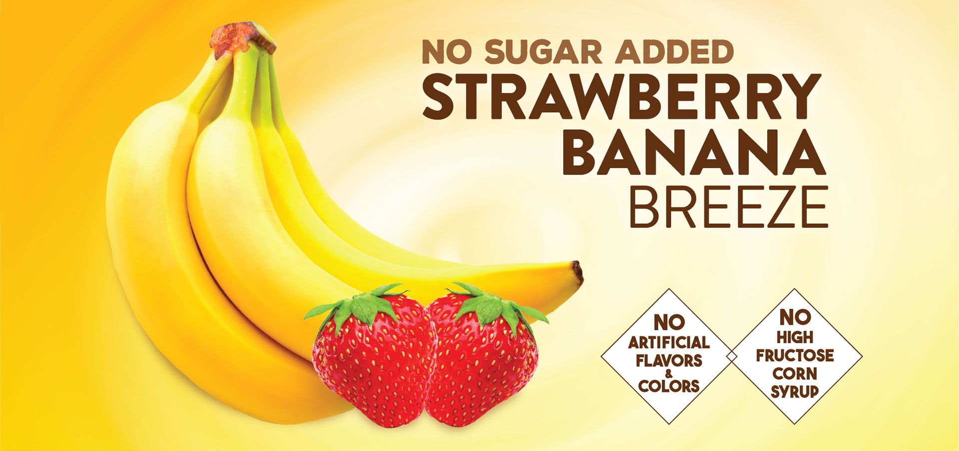 strawberry banana breeze label image