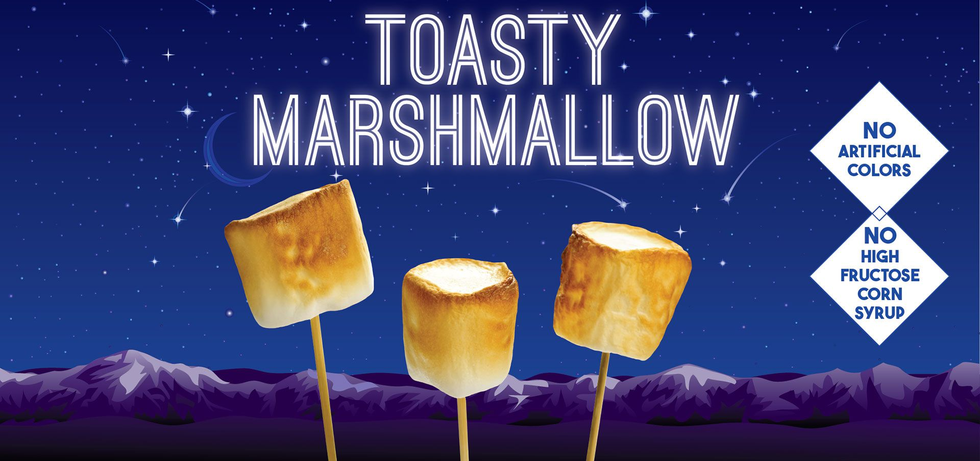toasty marshmallow label image