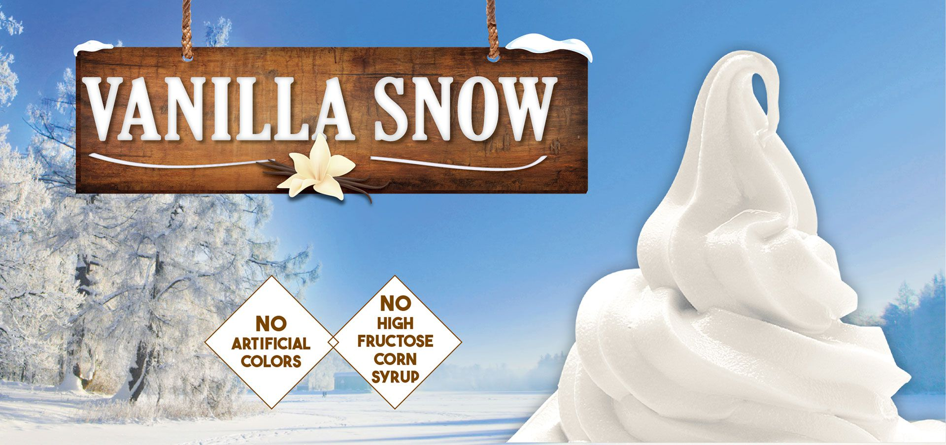 vanilla snow label image