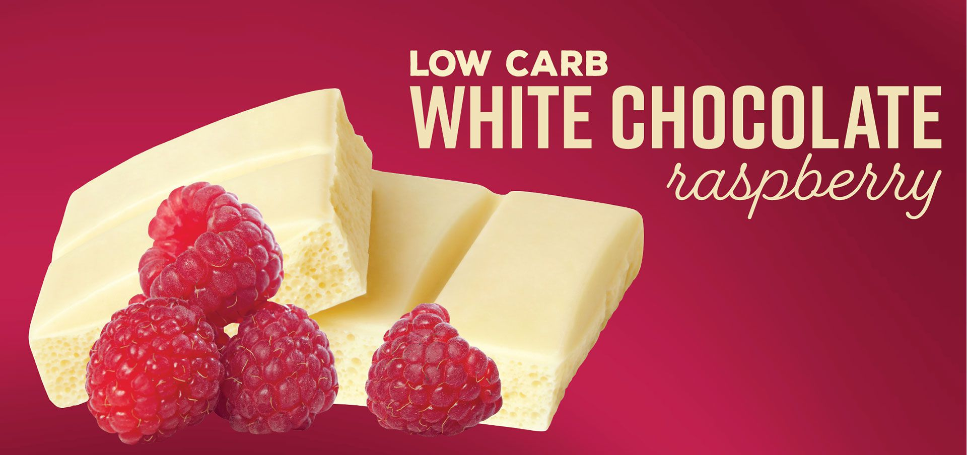 white chocolate raspberry label image
