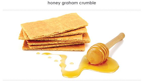 honey graham crumble