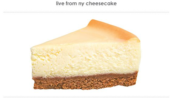 live from ny cheesecake