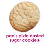 pan's pixie dusted sugar cookie