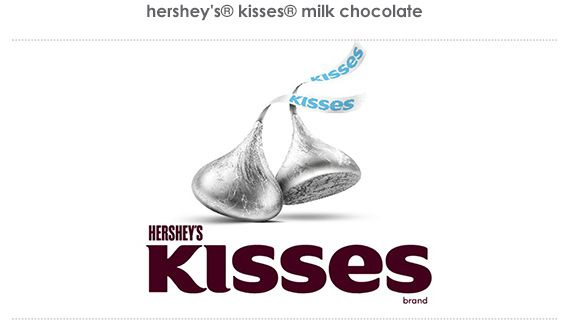hershey's® kisses® milk chocolate