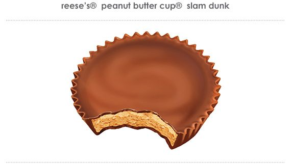 reese's® peanut butter cup® slam dunk