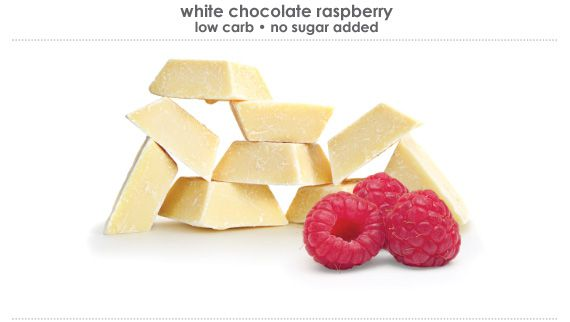 white chocolate raspberry