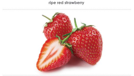 ripe red strawberry