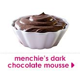 menchie's dark chocolate mousse