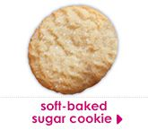 soft-baked sugar cookie