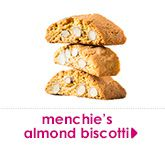 menchie's almond biscotti
