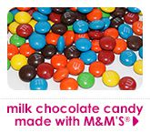 milk chocolate candy made with M&M'S®