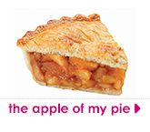 the apple  of my pie