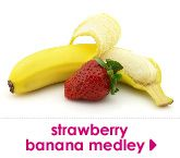 strawberry banana medley