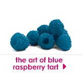 blue raspberry tart
