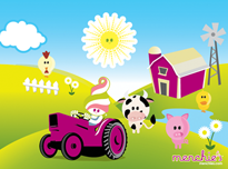 Menchie's Wallpaper - Farm Time