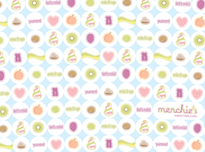Menchie's Wallpaper - Tile