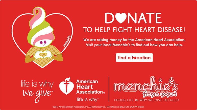Donate to help fight heart disease