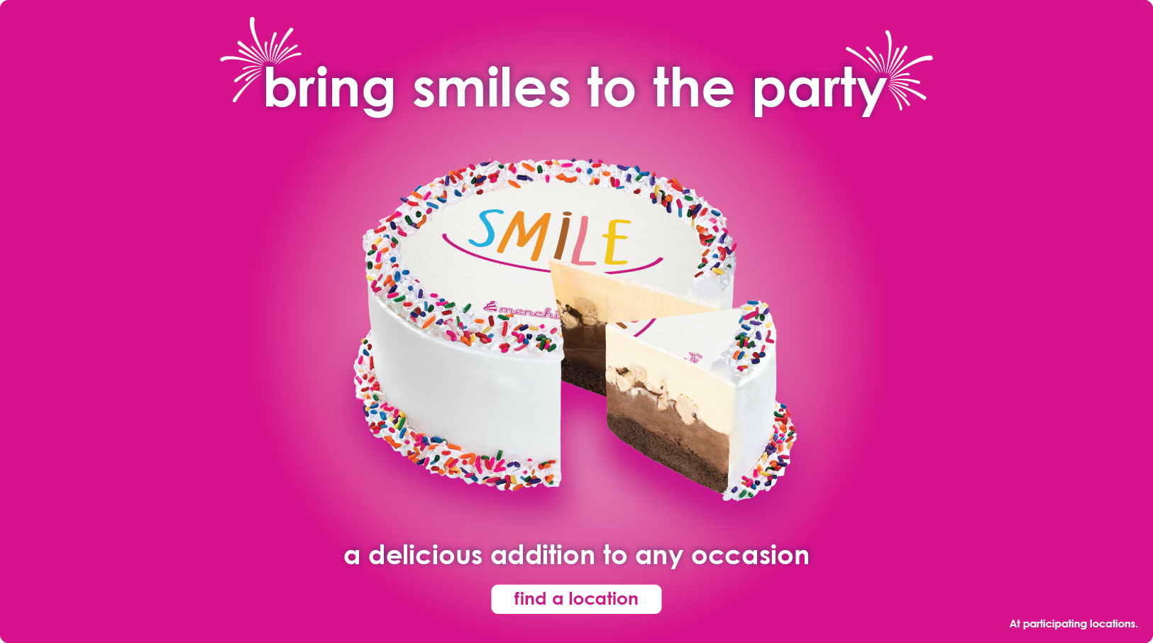 Bring smiles to the party - a delicious addition to any occasion