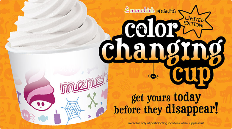 Color changing cup - get yours today before they disappear!