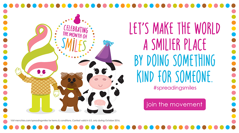 Let's make the world a smilier place by doing something kind for someone #spreadingsmiles - Join the Movement