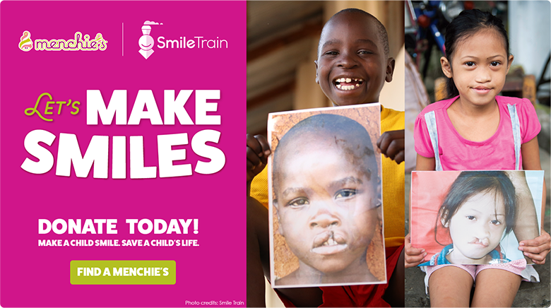 Let's make smiles - donate today!