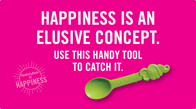 Happiness is an elusive concept - use this handy tool to catch it