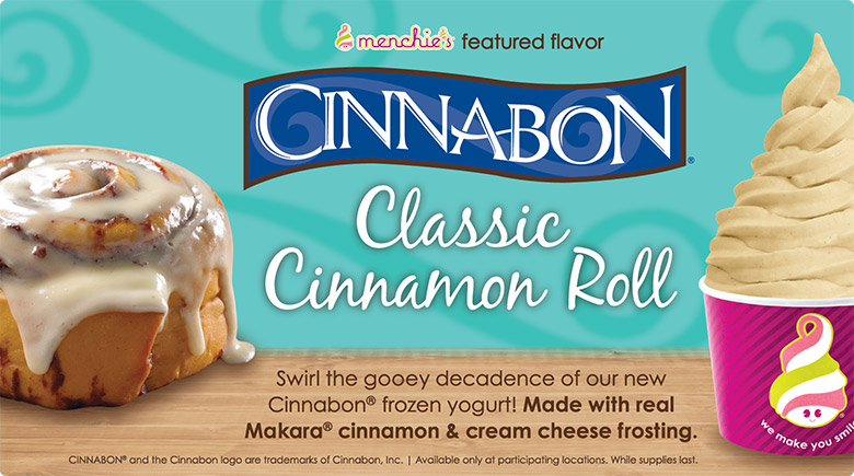 Featured Flavor - Cinnabon Classic Cinnamon Roll