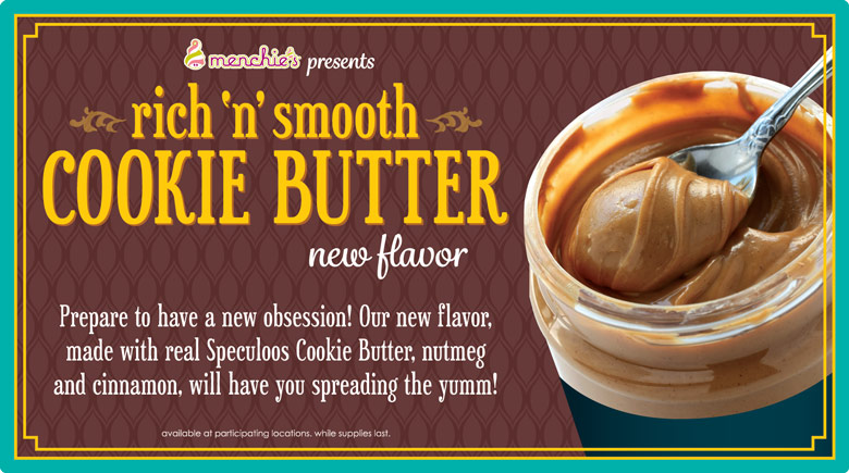 Featured Flavor - Rich and Smooth Cookie Butter