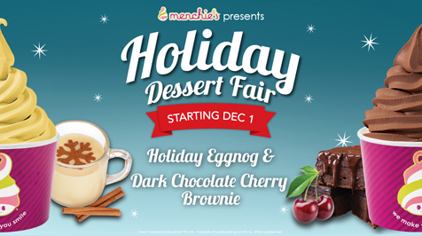 Starting December 1st - Holiday Dessert Fair